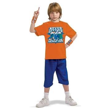 John Cena - traje de niño  Amazon.es  Juguetes y juegos 4875d4034fc