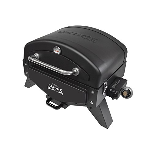 Smoke Hollow VT280B1 Vector Series, Portable Table Top Propane Gas Grill with Warming Rack, 367 sq. inches of Cooking Area, Dimensions: 25.25'W x 19.5'D x 16'H