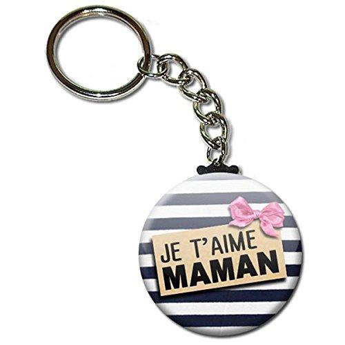 Porte-cl/és pour Maman Cadeau de f/ête des m/ères