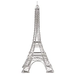 Eiffel Tower Replica Steel Wire Model Architecture Buildings 12 Inches, Design Ideas Doodles