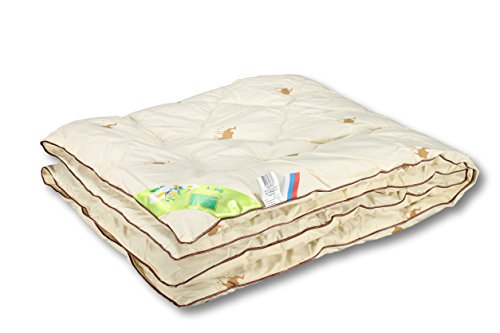 Camel Colt Crib/Toddler/Baby Сomforter with Natural Camel Wool, -