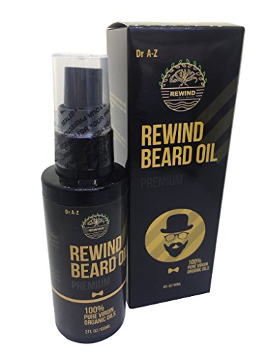 Beard oil Beard oil for men Beard Oil set Beard Oil growth Dry Beard Itch Beard Dr A-Z Premium 100% Pure All Natural and Organic Groomed Beard Mustaches and Moisturized Skin 60ml Largest XL (Purcellin Oil)