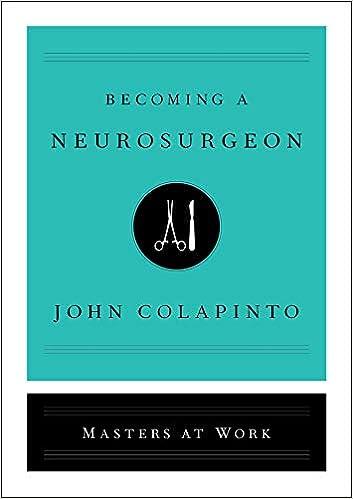 0f05432409 Becoming a Neurosurgeon (Masters at Work): 9781501159176: Medicine ...