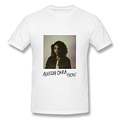 Sara Mayers clothes Men's Alessia Cara Here Cover 2015 T-Shirt