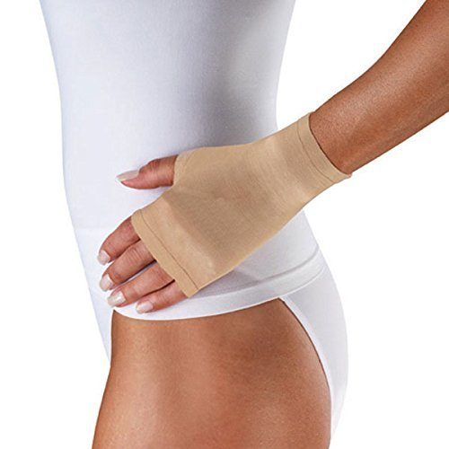 Venosan Lymphedema Care Gauntlet - 20-30 mmHg Sand Medium LM89301 by Venosan by Venosan