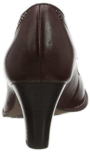 Clarks Bombay Lights Damen Pumps Rot (Burgundy Leather)