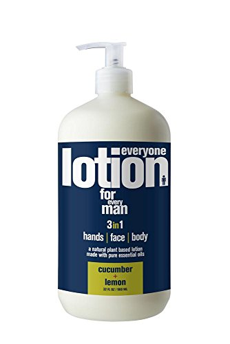 Price comparison product image Everyone Lotion for Every Man, Cucumber and Lemon, 32 Ounce