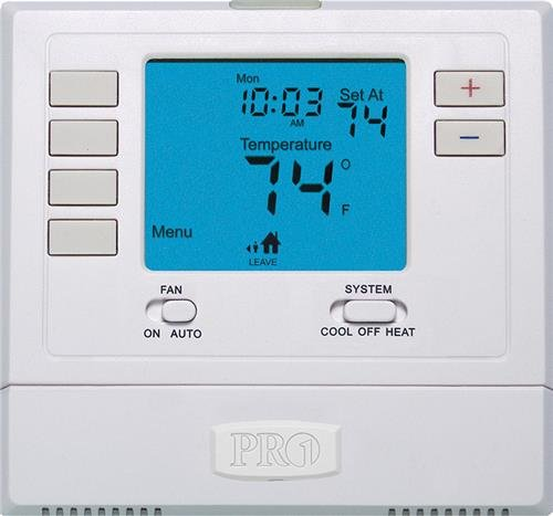 Thermostat, 5-1-1 Day Programmable, Stages 2 Heat/2 Cool