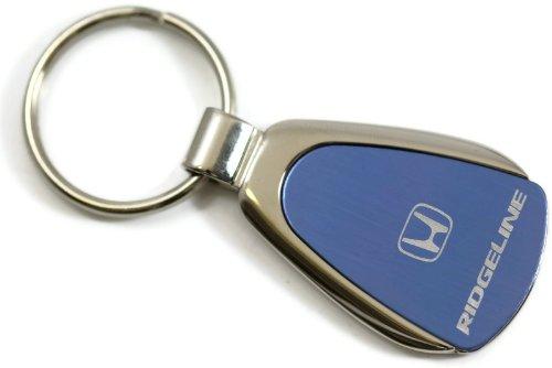 Honda Ridgeline Blue Teardrop Key Fob Authentic Logo Key Chain Key Ring Keychain Lanyard AU-TOMOTIVE GOLD