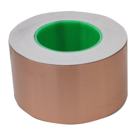 Cinta de Cobre 76mm x 50mt Adhesivo Conductor TAPES MASTER