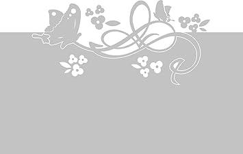 Graz Design 980123_90x57 Sichtschutzfolie Fenster Tattoo/aufkleber,  Kinderzimmer Mädchen Schmetterlinge Blumen, 90