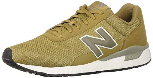New Balance Men's 005 V2 Sneaker, Linseed/White, 10 D US