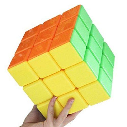 Large Rubiks Cube - GoodCube Super cube Big cube Stickerless speed Cube 18cm large cube Educational Toy