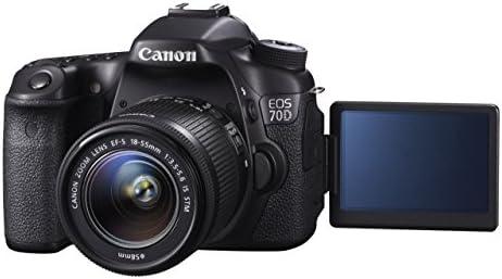 Canon EOS 70D + EF-S 18-55mm - Cámara digital (Reacondicionado ...