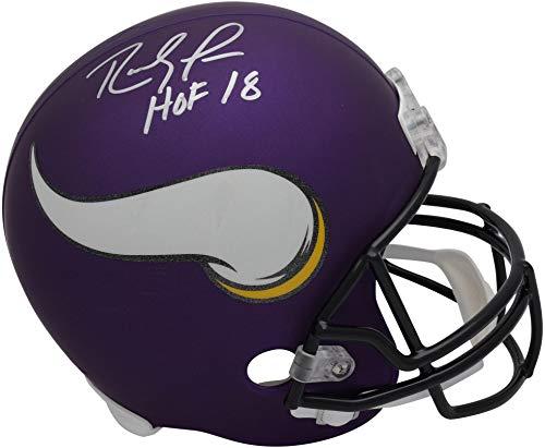 (Randy Moss Minnesota Vikings Autographed Riddell Replica Helmet with