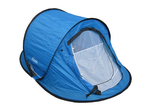 Pop Up Tent (size:106''x65''x43'') with inner tent by Zaltana