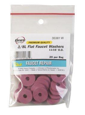 FLAT FAUCET WASHER 3/8L by DANCO MfrPartNo 35381W