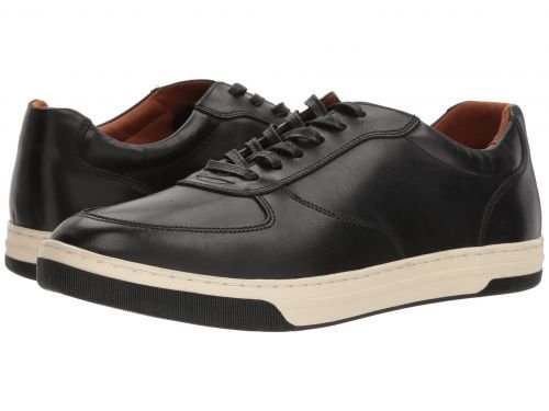 Johnston & Murphy(ジョーンストンアンドマーフィー) メンズ 男性用 シューズ 靴 スニーカー 運動靴 Fenton U-Throat - Black Calfskin [並行輸入品] B07BMCZ94V