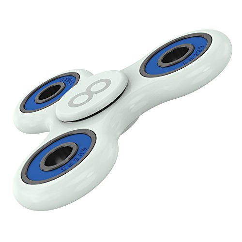 Price comparison product image Maxboost Fidget Spinner [Grow-In-Dark Series] Fidget Toy Focus Finger Hand Spinner Stress Reliever for Kids,Adults [Premium Bearing] Easy Flick/Spin High-Speed Prime Spinner -Perfect For School, Work