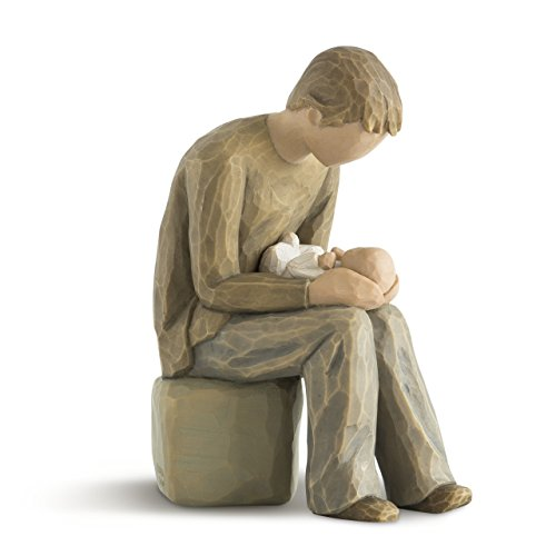 (Willow Tree New Dad, sculpted hand-painted figure)