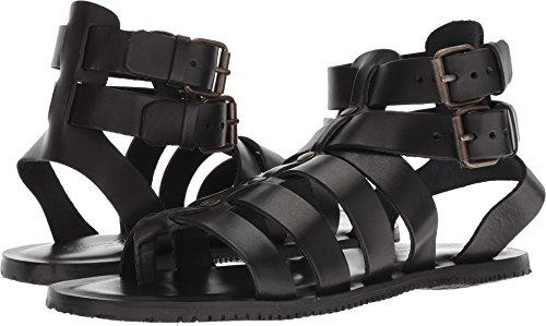 Massimo Matteo Men's Buckle Strap Gladiator Black 12 D -