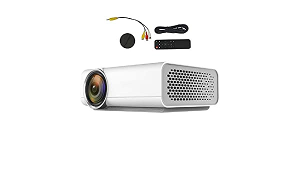 Mini proyector, proyector 720P Full HD Nativo Proyector LED ...