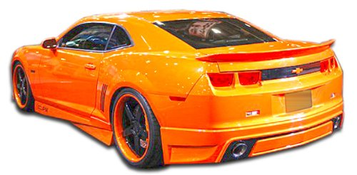 - Duraflex ED-XPN-131 Racer Rear Lip Under Spoiler Air Dam - 1 Piece Body Kit - Compatible For Chevrolet Camaro 2010-2013