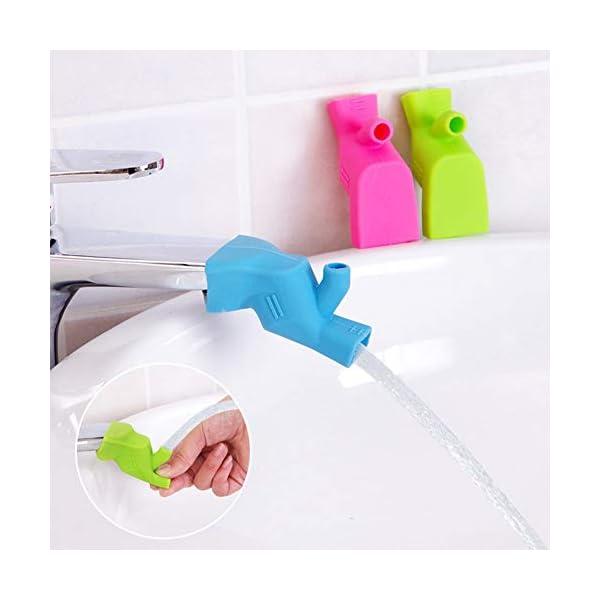 BRUSSELS08-creative-silicone-acqua-del-rubinetto-Extender-per-bambini-lavaggio-mani-Aids-bagno-rubinetto-di-lavabo-beccuccio-estensori-Fun-lavaggio-a-mano-per-neonati-bambini-bambini-Green