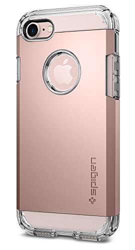 Spigen Tough Armor iPhone 7 Case with Extreme Heavy Duty Protection and Air Cushion Technology for iPhone 7 2016 - Rose Gold