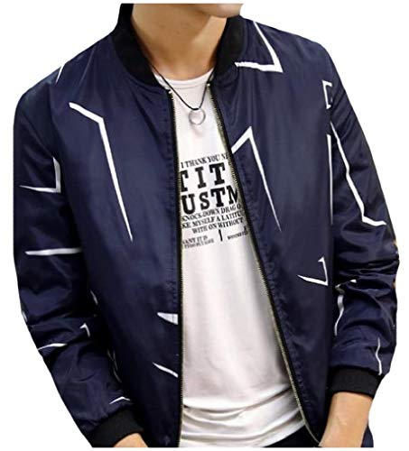 2 Varsity Western Fit Spring Autumn Classic Jacket Casual MogogoMen qWT8B4nT