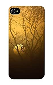 61160af4263 Tpu Phone Case With Fashionable Look For Iphone 5/5s - Watcher In The Fog Case For Christmas Day's Gift