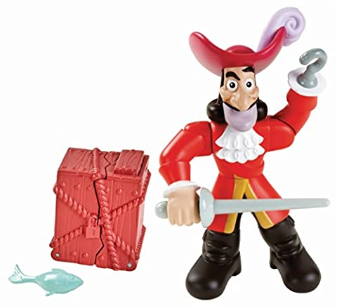 Fisher-Price Jake and The Never Land Pirates Action Figure Pack - Hook (Buccaneer Battling Jake)