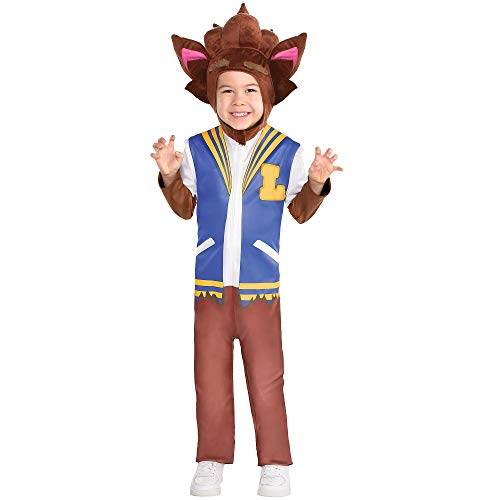 Party City Lobo Halloween Costume for Boys, Super Monsters, Small, Includes Accessories