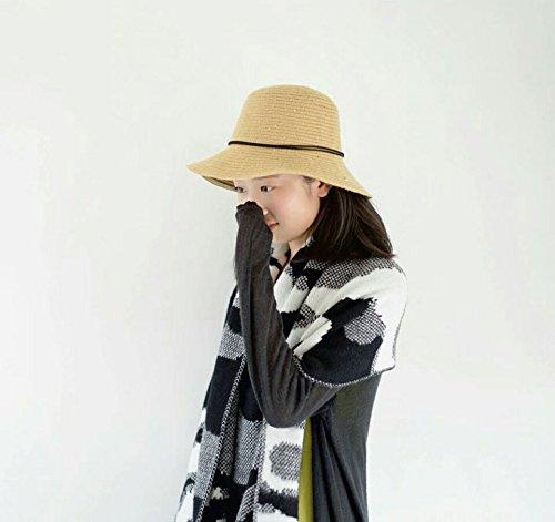Femme amp;hiver Bob Fil Acvip Automne De Laine Melon Chapeau Kaki Pêcheur UzP4q