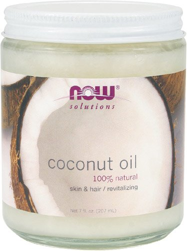 NOW Coconut Oil 7 Ounce Pack