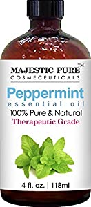 Majestic Pure Essential Oil, 100% Pure and Natural with Therapeutic Grade, Premium Quality Oil 4fl