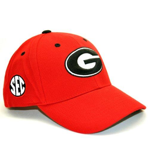 Georgia Baseball Hat (Georgia Bulldogs Adult Adjustable Hat)