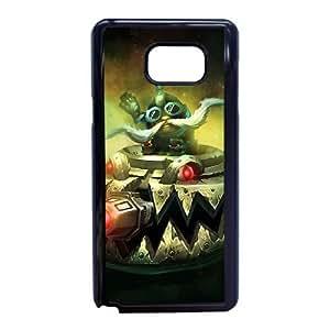 Corki D5L1JS3M Caso funda Samsung Galaxy Note 5 Caso funda Negro