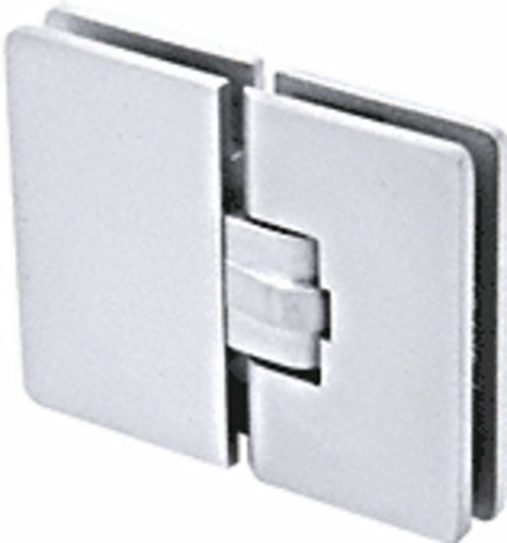 CRL Milano 180 Series Satin Chrome 180176; Glass-to-Glass Hinge