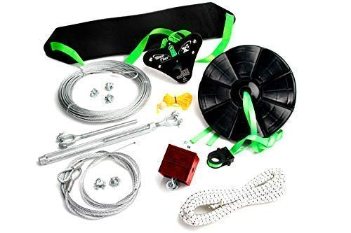 Alien Flier X3-F100 Backyard Zip Line Kit -