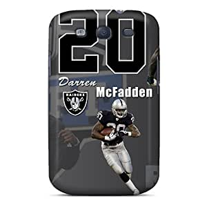 For Galaxy S3 Protector Case Oakland Raiders Phone Cover