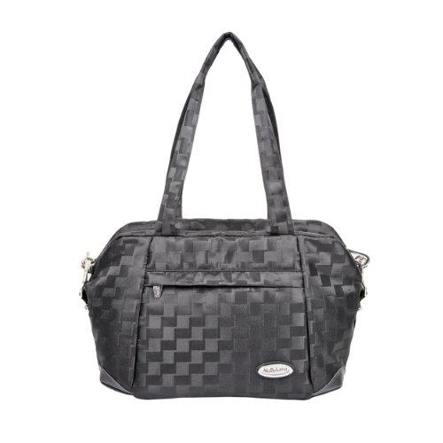 Mabyland Luxury - Set de bolso cambiador, color negro