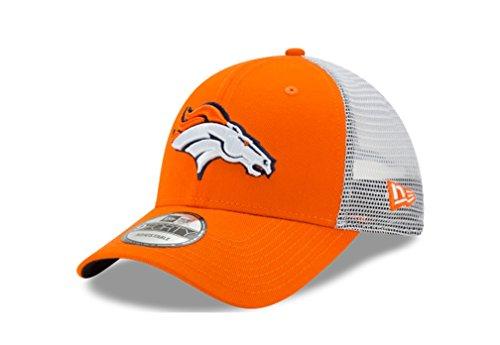 Denver Broncos Trucker Duel New Era 9FORTY Adjustable Snapback Hat / Cap by New Era