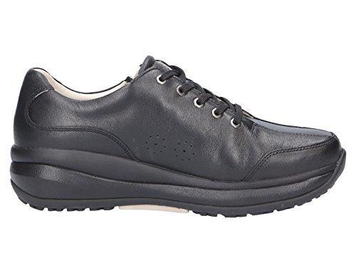 Mujer Zapatos De Negro 698cas Para Cordones Joya xFqZPwU4Rn