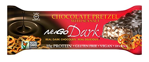 California Pretzels (NuGo Dark Chocolate Pretzel, 1.76-Ounce (Pack of 12))