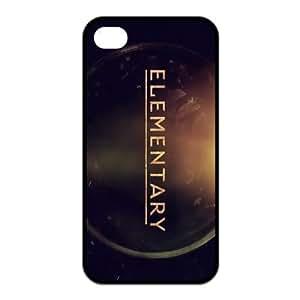 Customizable Elementary iPhone 4 and iPhone 4S Hard Hard Back Case Cover Skin , i4xq-367 WANGJIANG LIMING