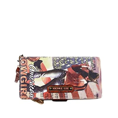 Nicole Lee American Cowgirl Print Wallet Collection