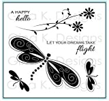 Gina K. Designs Rubber Stamp Set - Dreams Take Flight