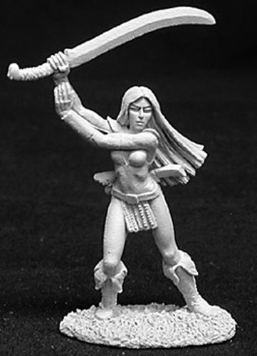 Reaper Miniatures Felicia Of the Blade #02723 Dark Heaven Unpainted - Felicia Dennis
