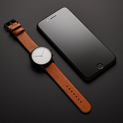 Nevo Hybrid Smart Watch for Android or IOS Phone,Black Case, Brown Strap by Nevo (Image #4)